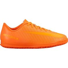 3c95f6172 NIKE Jr Mercurial Vortex III IC Indoor Soccer Shoe Sz 55Y Total Orange     Check