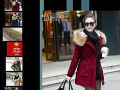 Winter Jacket Women Slim Solid Color Hooded Medium And Long Thickening Cotton Parka Casual Plus Size