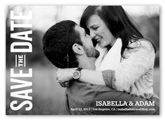 Simple Date 5x7 Stationery Card ($$) | Save the Dates | Shutterfly