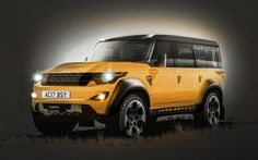 // New Land Rover Defender to launch in 2016. (Nooooo what did you do with it????)