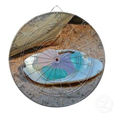 Beach Glass Easter Eggs Dart Board