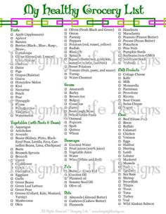 Menu Planning Printable  Meal Planner  Grocery List  Cas The O