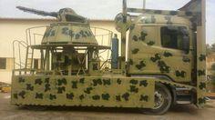 The Libyan National Army going DIY: naval guns mounted on trucks Gun Turret, Diy Tank, Armored Vehicles, Military Art, Military Aircraft, Military Vehicles, Wii, Guns, Army