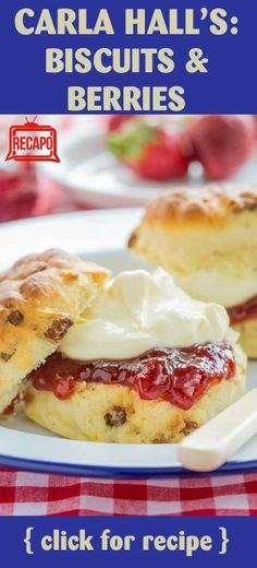 Need to try something different for breakfast... How about biscuits and berries? This recipe shows that biscuits don't work with just gravy! http://www.recapo.com/the-chew/the-chew-recipes/the-chew-carla-halls-biscuits-and-berries-recipe-for-a-summer-snack/