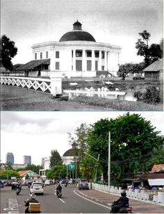 Willemskerk te Batavia, ca 1870, ,., Gereja Emmanuel, jl Taman Pejambon, 2015