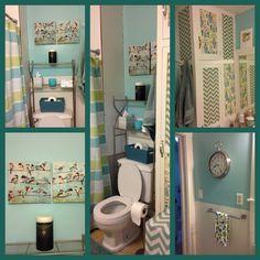 Blue Green Bathrooms Bathroom, Green And Blue Bathroom Accessories