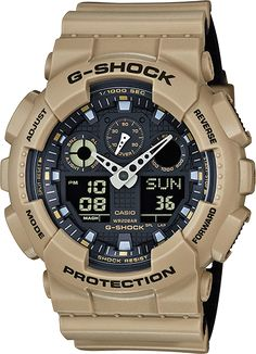 From G-SHOCK, the watch brand that is constantly setting new standards for timekeeping toughness, comes the Military Colored Layered Band Series. Shock Resistan