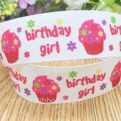 Free shipping It's a boy it's a girl birthday printed grosgrain ribbon holiday Bow Material Gift Wrap ribbon tape 10 yards-in Ribbons from Home & Garden on Aliexpress.com | Alibaba Group
