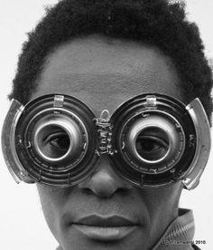 Eyewear by visual artist Cyrus Kabiru.