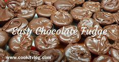 Easy Chocolate Fudge     Fast and easy Fudge Recipe perfect for the Holidays!    Don't miss out, click below to grab this recipe!   ...