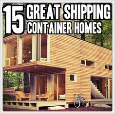 15 Great Shipping Container Homes - TinHatRanch Tiny House Living, Home And Living, My House, Living Room, Eco Casas, Container Design, Container Houses, Little Houses, My Dream Home