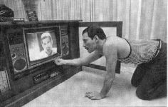 Freddie watching Freddie