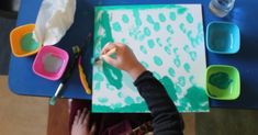In the classroom, we give the children their own canvas for their birthday to create a classroom painitng. Birthday Traditions, A Classroom, Preschool Kindergarten, Reggio, Pre School, Display, Traditional, Canvas, Painting