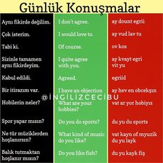 Turkish Lessons, French Lessons, English Lessons, English Words, English Grammar, English Language, Spanish Lessons, Japanese Language, Learn Turkish Language