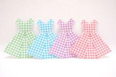 Origami Paper Dress Origami Dress Origami Dress by KaoriCraft