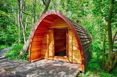 Luxury Mega Glamping Pods In Norfolk | Deer's Glade