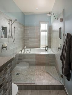American Bath Factory Contemporary Bathroom Image Ideas Seattle Ceramic  Tile Bathroom Glass Shower Door Niche Recessed