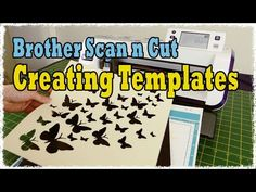 ▶ Brother Scan n Cut Tutorial: Create Duplicate Templates and Shapes - YouTube