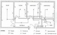 como hacer plano electrico de una vivienda - Pesquisa Google