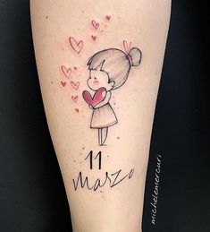 Excellent simple ideas for your inspiration Mini Tattoos, Mutterschaft Tattoos, Tattoo On, Love Tattoos, Beautiful Tattoos, Body Art Tattoos, Small Tattoos, Tatoos, Mommy Tattoos