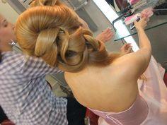 Bridal hair style, coafura mireasa
