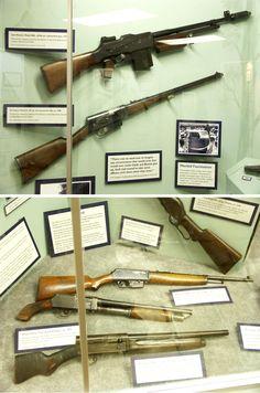 Bonnie and Clyde guns