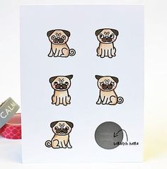 Need to scratch your pug love itch? Pug Life will do it for you, without the dreaded shed!  Are there are other breeds of our Sweet canine friends you'd like to see us try our hand at? Let us know in the comments below. (: @rohla )