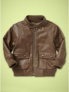 perforated jacket viper brown  59.00  all sizes  #621201
