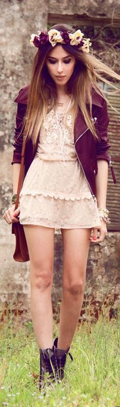 Look Du Jour: Lilac wine by Fashion Coolture bohemian chic so pretty