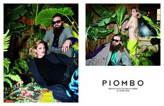 Piombo F/W 2011 campaign shot by Olivier Zahm featuring Max Snow and Leah de Wavrin
