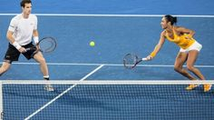 1/8/16 Andy Murray and Heather Watson saved 3MPs before losing the tie-break v Australia Green, but they did prevailed against Team Germany's Sabine Lisicki & Alexandr Dolgopolov with a 3-0 match sweep.