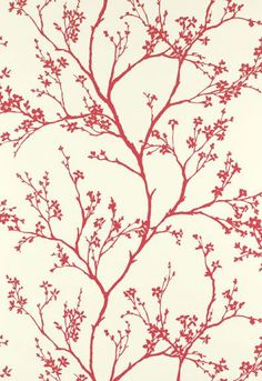 5003343 Twiggy Raspberry Schumacher Wallpaper you can purchase this pattern online for less plus samples available. Thanks for shopping Mahones Wallpaper Shop for pattern Remember Mahones Wallpaper Shop only sells hand materials straight from Schumacher Wallpaper Samples, Fabric Wallpaper, Wallpaper Roll, Pattern Wallpaper, Wallpaper Ideas, Hallway Wallpaper, Chic Wallpaper, Perfect Wallpaper, Nature Wallpaper