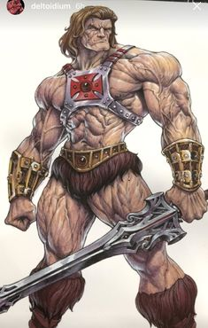 He-Man Marvel Comic Universe, Marvel Vs, Comic Books Art, Comic Art, He Man Thundercats, Armadura Medieval, 80 Cartoons, Gundam Art, Conan The Barbarian