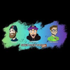 #HappyNewYear everyone! Hope it was a good one for you. We were live last night showing some love to some of our favorite #livestreamers @ryukahr @grandpoobear and @carlsagan42! Check them out if you're into classic video games and haven't already! (PS  @mikehulyk will be posting images of his drawing process on his personal Al account so make sure you're following him too!) - #fanart #nintendo #cartoon #charicature #twitch #livestream #streamer #youtube #videogames #supermariomaker…