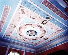 Tania Vartan painted ceiling