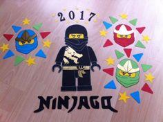 Bastelset Schultüte Ninjago Figuren Einschulung neu Figur Schwarz in Zetel