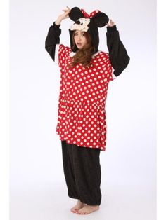 Minnie Mouse Disney Onesie | Kigurumi France - Animal Onesies Pajamas for Adult & Kids-FREE SHIPPING on everything at Kigurumi.fr, with no minimum purchase required.