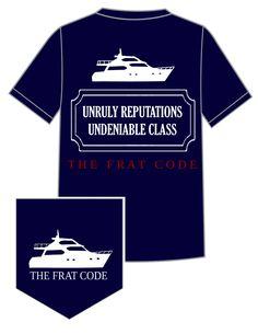 The Frat Code Original Tee