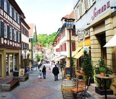 Schwäbisch Hall - Shops at Neue Straße (c)MoinServus!