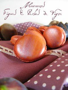 J'en reprendrai bien un bout...: Macarons Figues & Pêches de Vigne