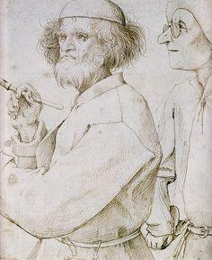 Pieter Bruegel d. Ä., Künstler und Kenner/Maler und Käufer (Pieter Bruegel the Elder, The Painter and the Buyer)