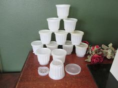 Tupperware Molds Set of 12 Single Serving Individual Dessert  Molds by LuRuUniques on Etsy