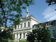 La façade du Palais (UCO, Angers)