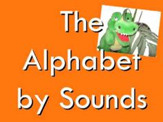 Alphie sings us the Alphabet by SOUNDS instead of letter names.  This helps students remember that each letter has a special sound.