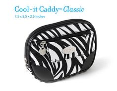 @feelthechill Cool-it Caddy™ Classic  The original Cool-it Caddy™ for women. Fully insulated interior and integrated coolant system. Small enough to fit into purses, golf and gym bags, backpacks, beach totes, etc.
