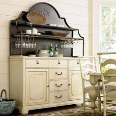 Paula Deen River House Home Cooking Cupboard U0026 Hutch   River Boat   Buffets  U0026 Sideboards