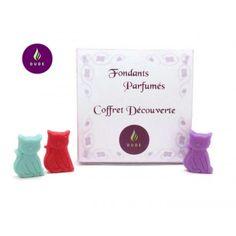 Coffret Découverte Fondants Parfumés Florales 16 Petits chats cire végétale pour brûle parfum N°2 | Dude Bougies
