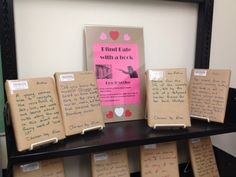 Blind Date with a Book at Parliament Library Activities, Singles Events, Summer Reading Program, Blind Dates, Media Center, Lesson Plans, Dating, Book Displays, Cards Against Humanity