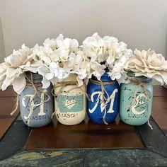 Montana Home Mason jar set | rustic home decor
