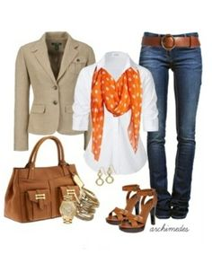 Day 4: Color ~ Pretty outfit for a #PearShape #AutumnTones #NewYearStyleChallenge